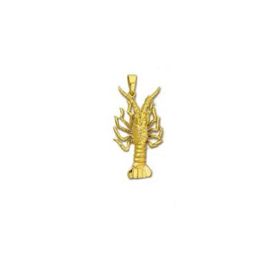 Lobster Florida 3/D Large Pendant with Bail  222AFYB