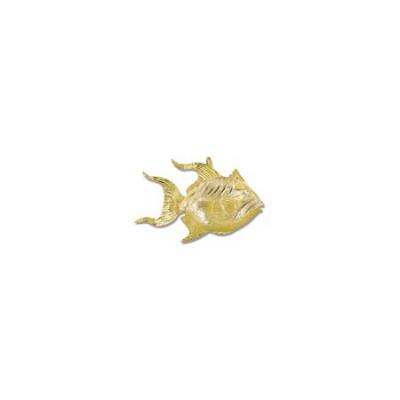 Triggerfish Large Pendant with Hidden Bail  MC_363.5YHB