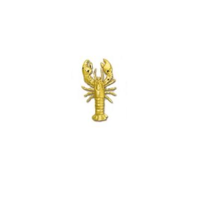 Lobster Maine 3/D Large Pendant with Hidden Bail  501BFYHB