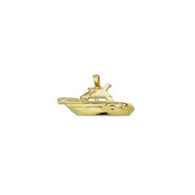 Cruiser Cabin Boat Large Pendant with Bail 635A.5YB