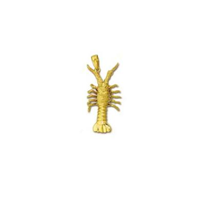 Lobster Florida 3/D Large Pendant with Bail  43FYB