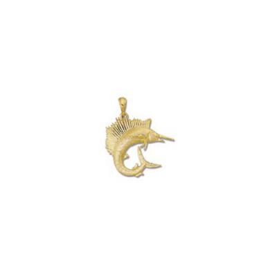 Sailfish Medium Pendant with Bail  MC__65C.5YB