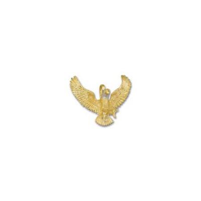 Eagle Landing To The Front Large Pendant 73AFHB